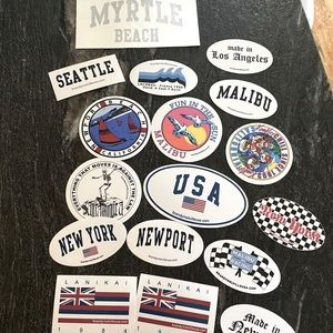 18 pack brandy Melville stickers